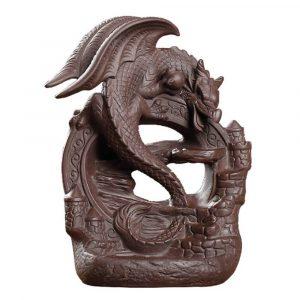 Dragon Guardian Backflow Incense Burner