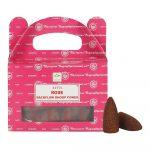 Rose - Satya Backflow Incense Cones Box