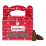 Dragon's Blood - Satya Backflow Incense Cones Box