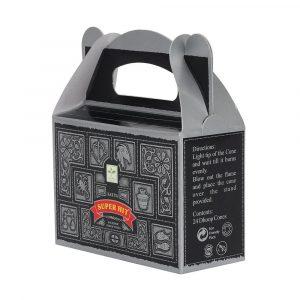 Superhit - Satya Backflow Incense Cones Box Side
