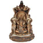 Bronze Style Ganesh Backflow Incense Burner