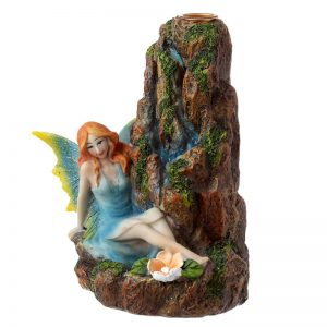 Fairy Waterfall Backflow Incense Burner Right Side